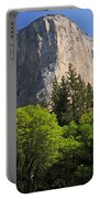 Spring Views Of El Capitan Portable Battery Charger