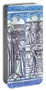 St. Catherine, Italian Philosopher Portable Battery Charger
