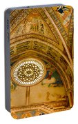 St Francis Basilica   Assisi Italy Portable Battery Charger
