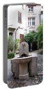 St. Paul De Vence Fountain Portable Battery Charger