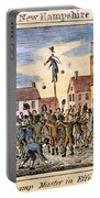 Stamp Act: Protest, 1765 Portable Battery Charger