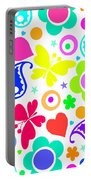 Summer Fun Portable Battery Charger by Louisa Knight