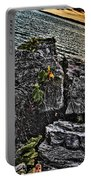 Sunset Please On The Rocks Portable Battery Charger