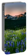 Tatoosh Dawn Portable Battery Charger by Mike  Dawson