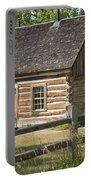 Teddy Roosevelt's Maltese Cross Log Cabin Portable Battery Charger