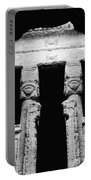 Temple Of Hathor Portable Battery Charger by Photo Researchers, Inc.