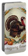 Thanksgiving Card, 1910 Portable Battery Charger
