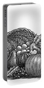 Thanksgiving: Cornucopia Portable Battery Charger