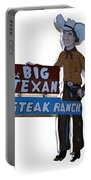The Big Texan Portable Battery Charger