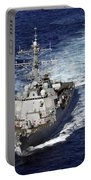 The Guided Missile Destroyer Uss Nitze Portable Battery Charger