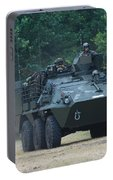 The Pandur Recce Vehicle In Use Portable Battery Charger