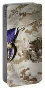 The Purple Heart Award Portable Battery Charger by Stocktrek Images