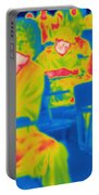 Thermogram Of Students In A Lecture Portable Battery Charger