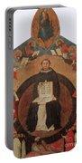 Thomas Aquinas, Italian Philosopher Portable Battery Charger
