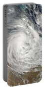 Tropical Cyclone Yasi Over Australia Portable Battery Charger