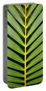 Tropical Palm Frond Portable Battery Charger