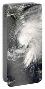 Tropical Storm Fay Portable Battery Charger