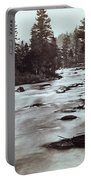 Truckee River - California - C 1865 Portable Battery Charger