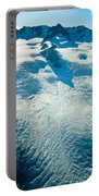 Upper Level Of Fox Glacier In New Zealand Portable Battery Charger