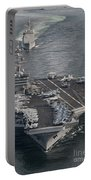 Uss Carl Vinson And Uss Bunker Hill Portable Battery Charger