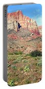 Utah Cactus Field Portable Battery Charger