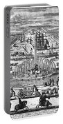 Versailles: Gardens, 1685 Portable Battery Charger