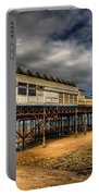 Victoria Pier Portable Battery Charger by Adrian Evans