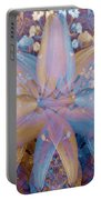 Vintage Lily Portable Battery Charger