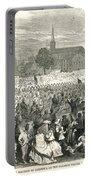 Washington: Abolition, 1866 Portable Battery Charger