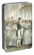 Wedding Of Queen Victoria Portable Battery Charger