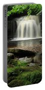 West Burton Falls In Wensleydale Portable Battery Charger