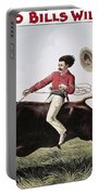 W.f. Cody Poster, C1885 Portable Battery Charger