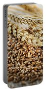 Wheat Ears And Grain Portable Battery Charger