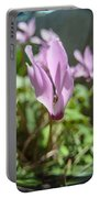 Wild Cyclamen Portable Battery Charger