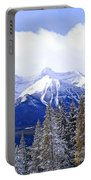 Winter Mountains Portable Battery Charger by Elena Elisseeva