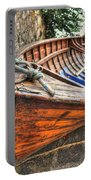 Wood Boat Portable Battery Charger