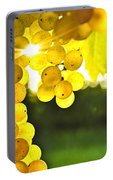 Yellow Grapes Portable Battery Charger