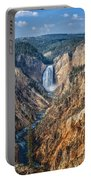 Yellowstone Lower Falls Portable Battery Charger
