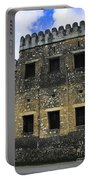 Zanzibar Old Fort Portable Battery Charger by Darcy Michaelchuk