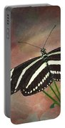 Zebra Longwing  Butterfly-2 Portable Battery Charger