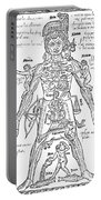 Zodiac Man, Medical Astrology Portable Battery Charger