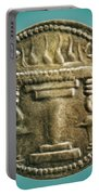 Zoroastrian Fire Altar Portable Battery Charger
