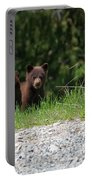 Black Bear Family Portable Battery Charger