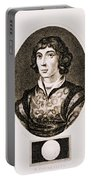 Nicolaus Copernicus, Polish Astronomer Portable Battery Charger