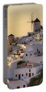 Oia - Santorini Portable Battery Charger by Joana Kruse
