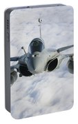 Dassault Rafale B Of The French Air Portable Battery Charger