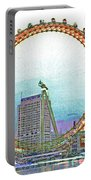 London Eye Art Portable Battery Charger