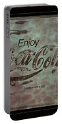 Coca Cola Sign Grungy Retro Style Portable Battery Charger