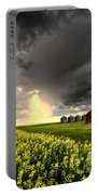 Storm Clouds Saskatchewan Portable Battery Charger