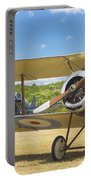 1916 Sopwith Pup Biplane On Airfield Canvas Photo Poster Print Portable Battery Charger